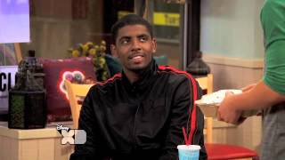 EXCLUSIVE: Kyrie Irving on Kickin