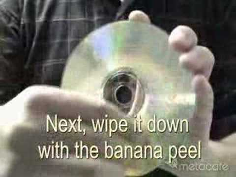 how to clean cd