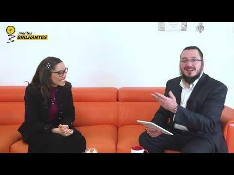 Programa Mentes Brilhantes   Convidada Rachel - Da Televisão para a Torah.