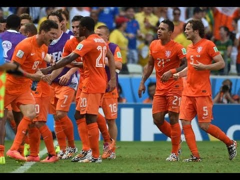 Netherlands vs. Mexico (2-1) All Goals & Highlights 2014 Brazil World Cup [29.06.14] (Sim)