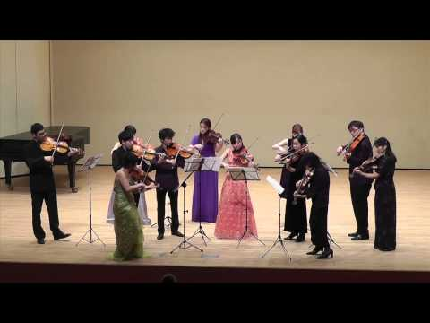 B.Smetana : Vltava (arranged for 4 violas by Mamiko Kobayakawa)