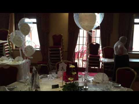 Carlton Park Hotel, Rotherham dressed for a wedding May 2015