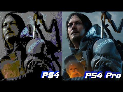 Death Stranding — PS4 Pro Vs PS4 сравнение графики