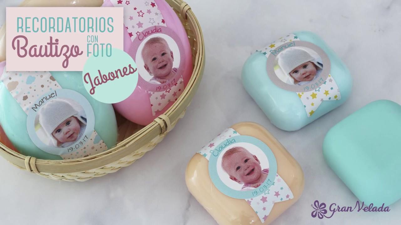 Jabones Artesanales Bautizo.Jabon Personalizado Para Bautizos
