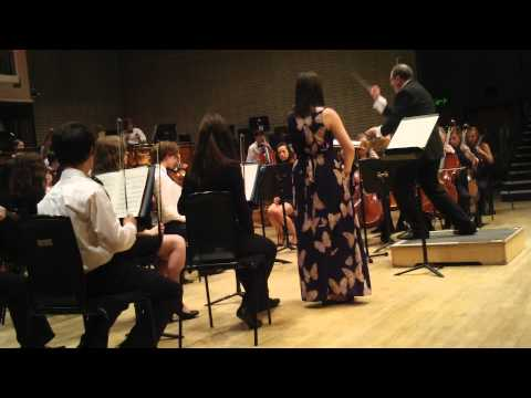 Violin Solo by Sophie Mather with Wigan Youth...