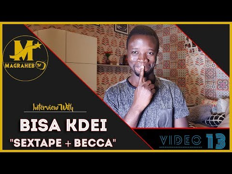 Bisa KDei talks about his SexTape Saga, Becca and Italy Tour
