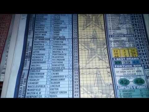 Milton K  D Football Pool Key for 2018/2019 Season - YouTube
