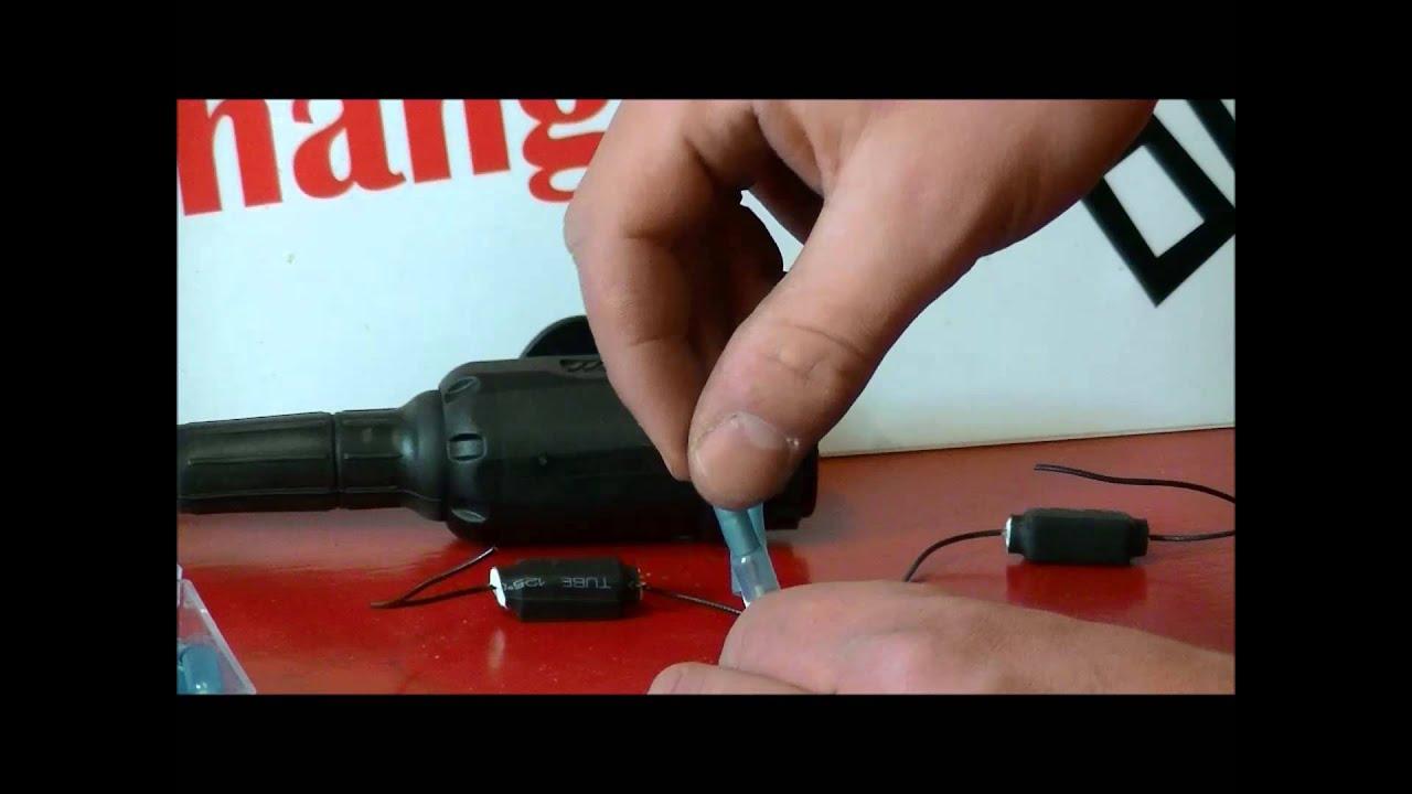 LED weerstand monteren om storing van led verlichting van ...
