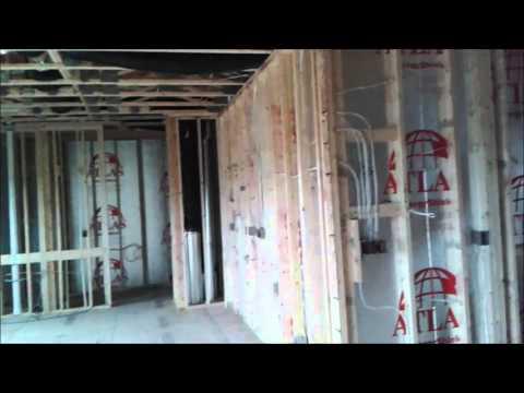 10. Жизнь в США, Nebraska - Работа электрика в новых домах - Residential electrician. Part 3