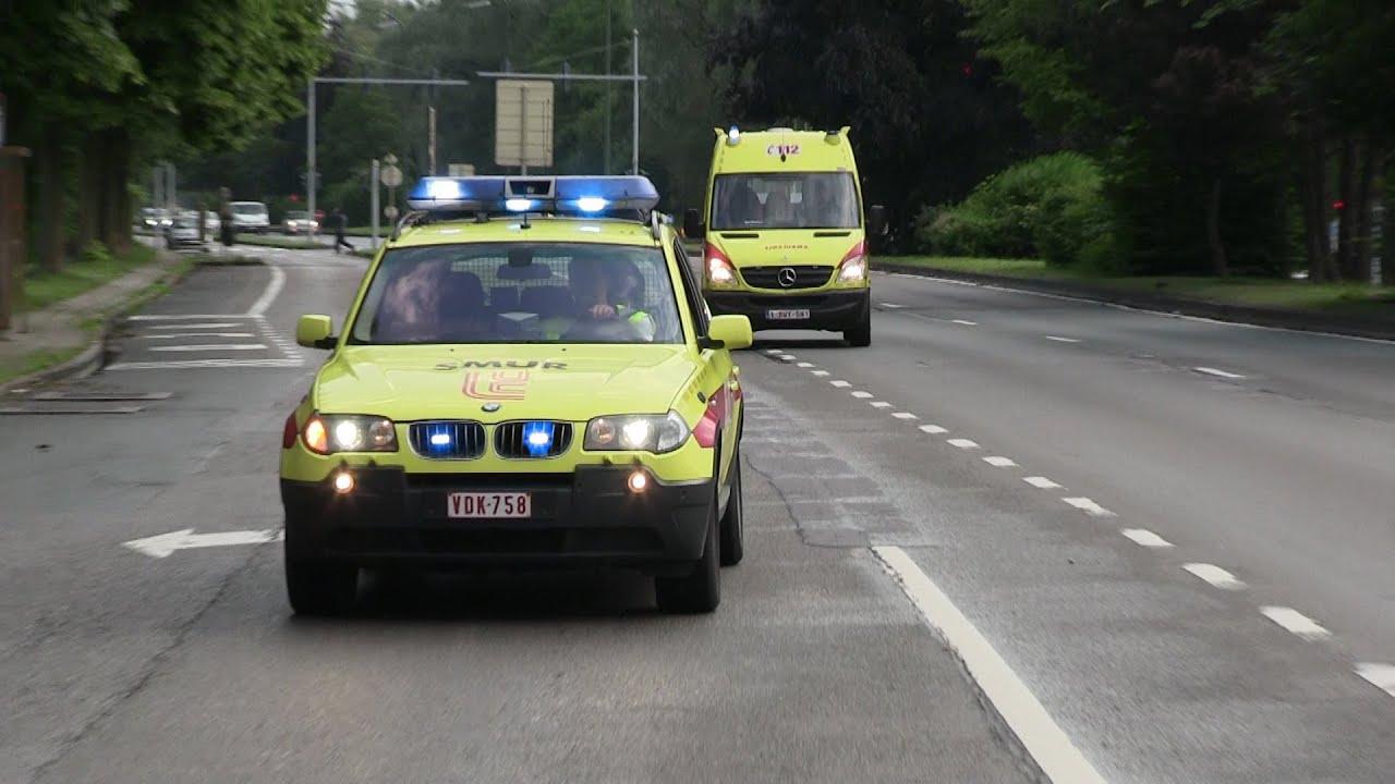 SMUR BMW X3 CHU Saint Luc A10 SIAMU Bruxelles