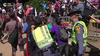 Протесты в Виргинии