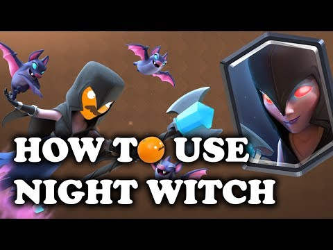 How to Use & Counter Night Witch | Clash Royale