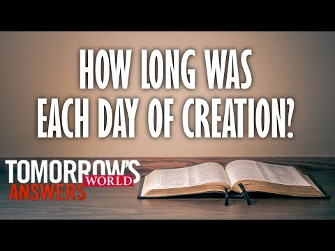 TW Answers--How Long Was Each Day of Creation?