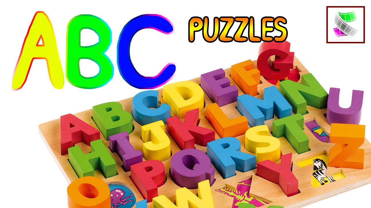 Free Worksheets Library Download And Print On Puzzle Knob Abc Learn Alphabet With Learning Puzzles Video For