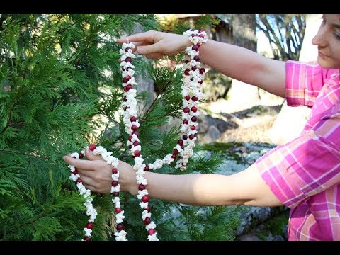 How To Make A Popcorn Garland For Your Christmas Tree Sophie S