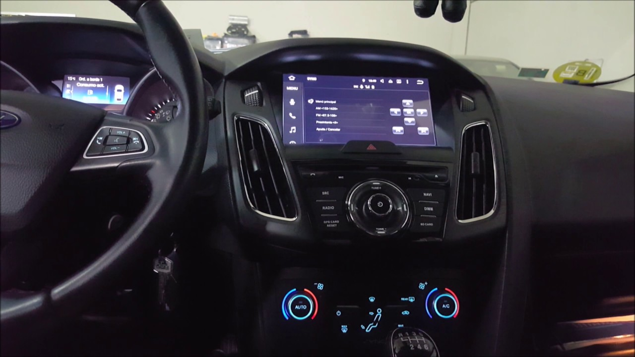 radio navegador dvd para ford focus 2012 mk3 android youtube. Black Bedroom Furniture Sets. Home Design Ideas