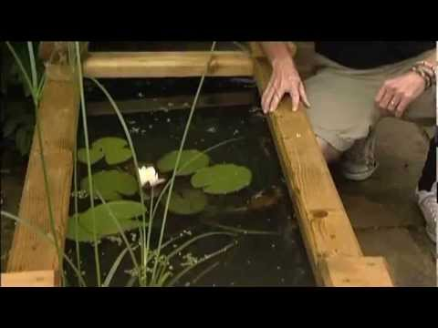 How to make a Wooden Raised Bed Pond Raised Garden Pond Design Ideas on above ground garden ponds ideas, diy small water feature ideas, raised garden pool ideas, raised pond kit, raised flower bed with pond, raised pond preformed, raised bed garden with pond, brick wall outdoor fountain ideas, raised turtle pond, raised koi pond, raised garden pond plans, raised garden for small ponds,