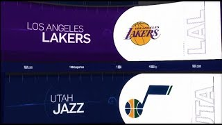 Utah Jazz vs LA Lakers Game Recap | 1/11/19 | NBA