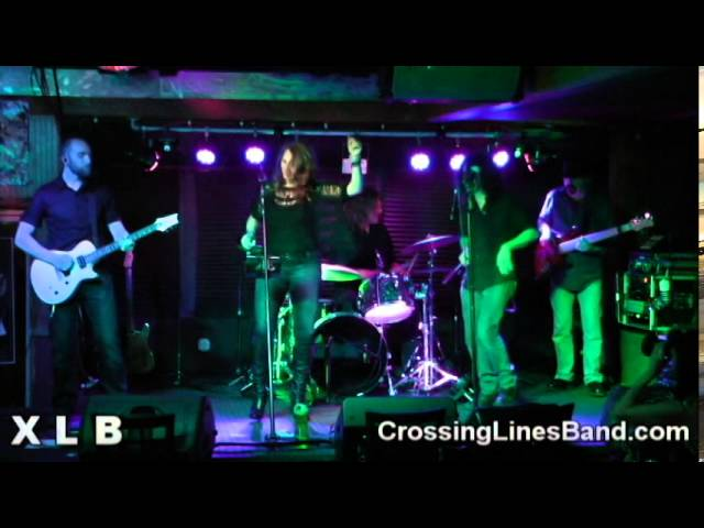Crossing Lines Band (XLB) with Reba Haas covers We Found Love