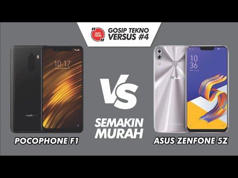 Xiaomi Pocophone F1 VS Asus Zenfone 5Z VERSUS #4 - GOSIP TEKNO INDONESIA