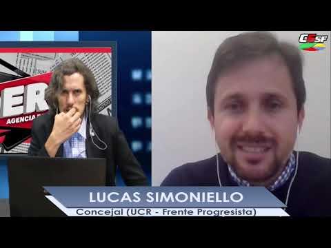 Lucas Simoniello: Buscamos fomentar lotes a precios accesibles en Santa Fe