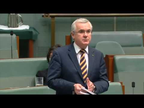 Andrew Wilkie delivers his response to the Government's sweeping national security reform