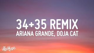 Ariana Grande 34 35 Remix Feat Megan Thee Stallion Doja Cat