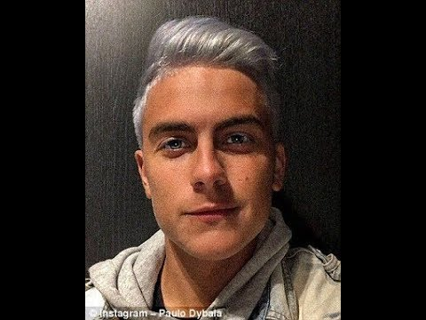 Paulo Dybala Shows Off New Hair Style 2018 Youtube