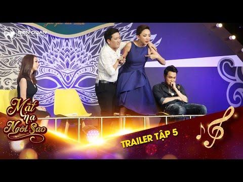 Mặt nạ ngôi sao | Trailer tập 5: Trường Giang, Tóc Tiên la hét vì nghi ngờ Đan Trường xuất hiện.