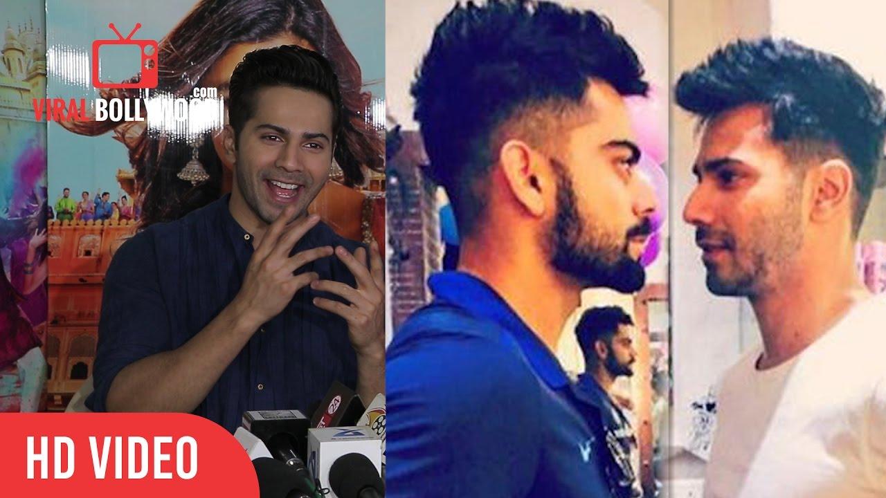varun dhawan crazy reaction on hakim's aalim   copying virat kohli