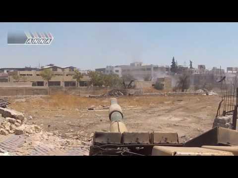 Tanks with GoPro, get destroyed in Jobar Syria