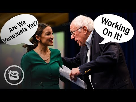 AOC And Bernie – Best Friends Forever! I Pat Gray Unleashed