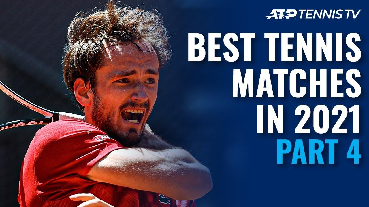 Best ATP Tennis Matches in 2021: Part 4