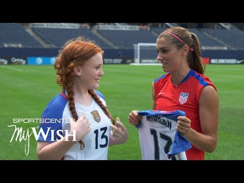 My Wish: Alex Morgan, USWNT fulfill Mackenzie's wish ahead of Rio Olympics | SportsCenter
