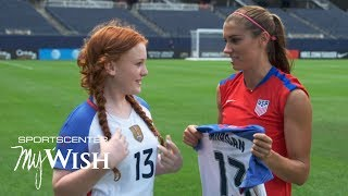 My Wish: Alex Morgan, USWNT fulfill Mackenzie's wish ahead of Rio Olympics | SportsCenter
