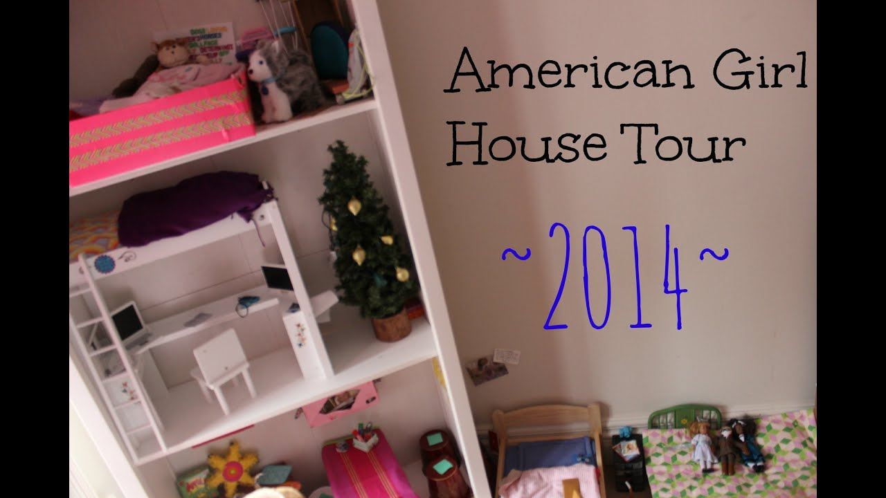 american girl house tour 2014 youtube