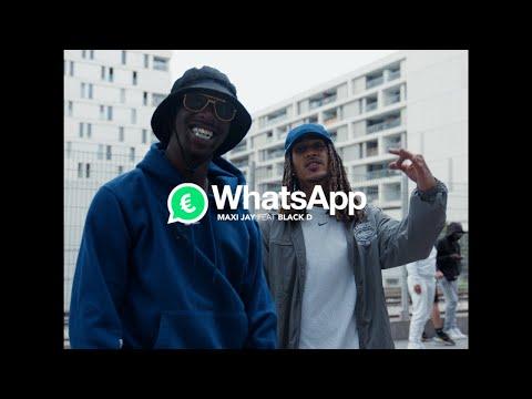 Maxi Jay - WhatsApp Feat Black D (Clip Officiel)