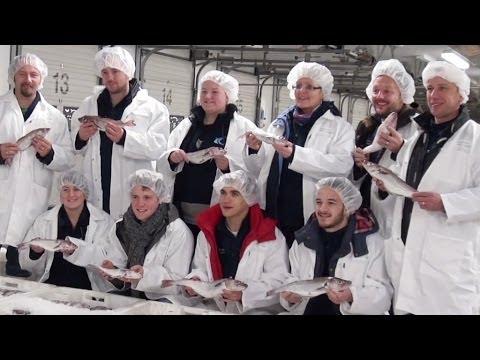 Fish & Chip Award Nominees Visit Peterhead, Scotland