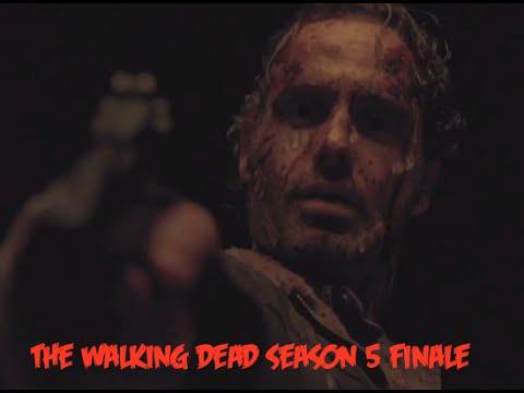 Rick Executes Pete/Ending Scene - THE WALKING DEAD SEASON 5 FINALE 5x16