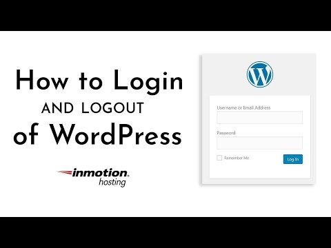 How to Log into your WordPress Dashboard | InMotion Hosting
