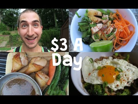 How To Eat Incredibly Well On $3 A Day