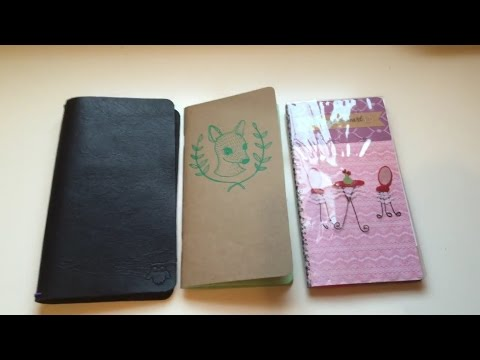 How to decorate your insert for your Travelers note book