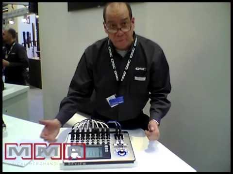 QSC Audio's Touchmix Mixers at MusikMesse 2014