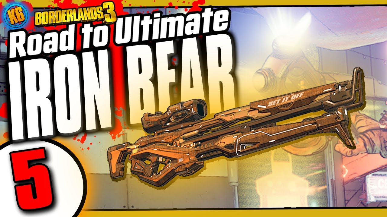 Ultimate Iron Bear Day #5 | Funny Moments & Legendary Loot [Borderlands 3] thumbnail