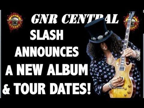 Guns N' Roses News: Slash Announces a New Conspirators Record & Touring Plans!