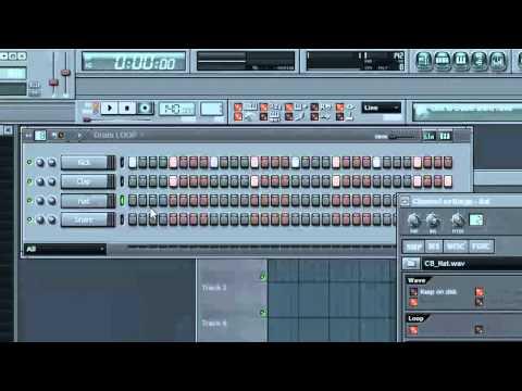 Fl Studio Tutorial'z - How to make a Basic Techno Song By FuseBaum