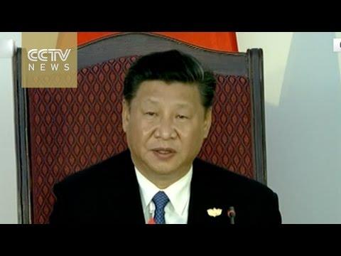 BRICS summit: China's Xi Jinping delivers speech in Goa