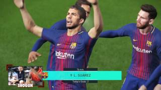 I faced up against MattHDGamer for an early game of PES2018! Plenty...