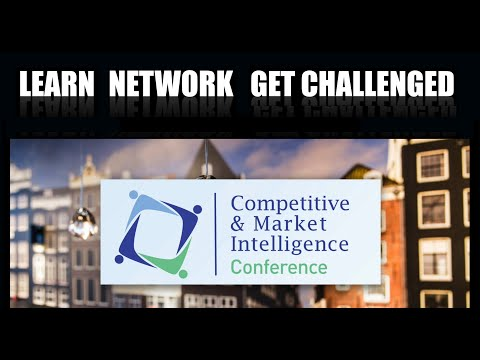 International Competitive/Market Intelligence Conference 2018