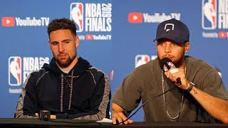 Steph & Klay Think They Will Come Back From Down 3-1 - Full Press Conference   Game 4